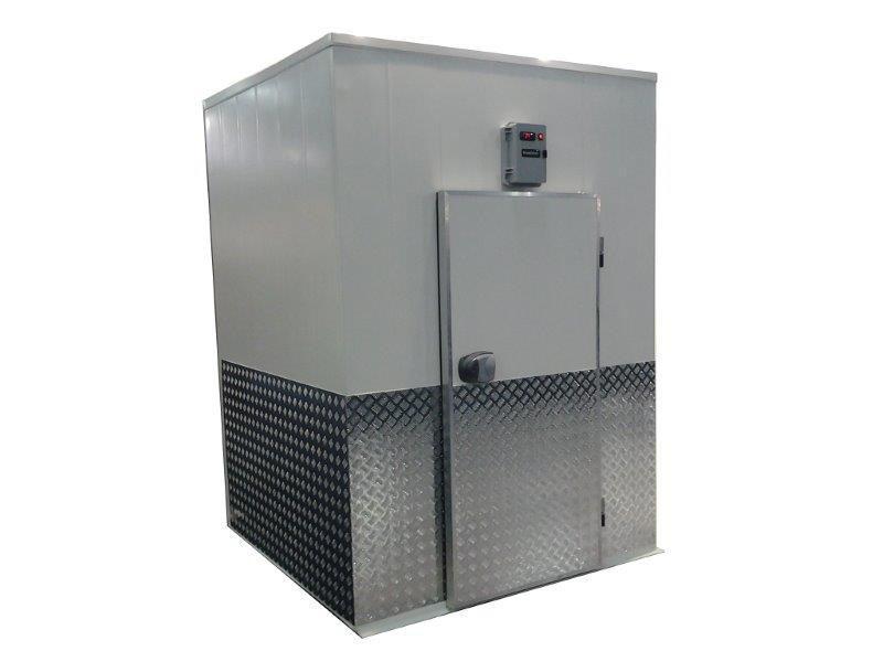 Câmara de resfriamento e congelamento