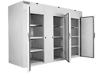 Mini Câmara Frigorífica Conjugada - 2 ou 3 Portas